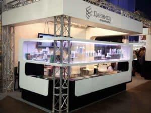 Центр лечения волос Данимед - стенд на выставке Невские Берега