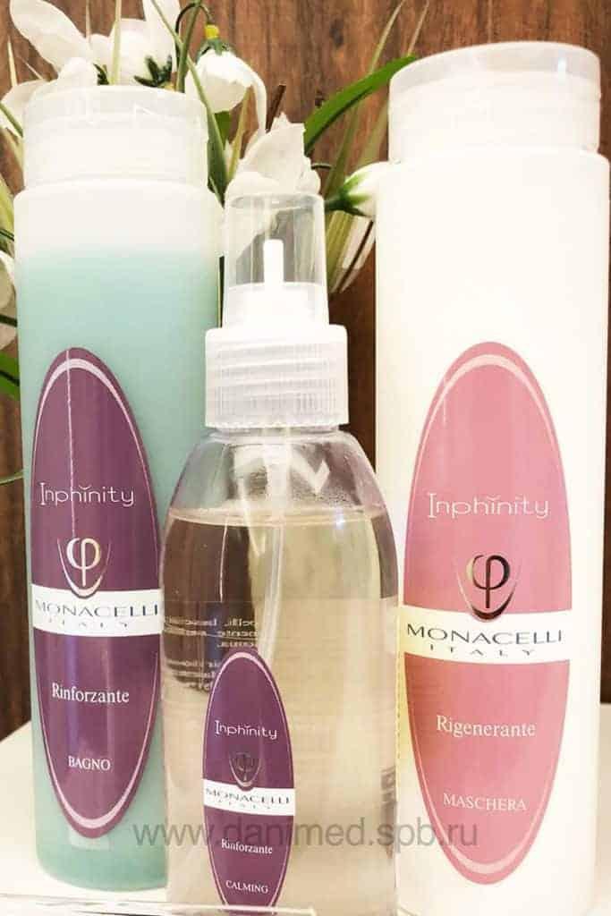 Набор средств для укрепления волос и кожи головы купить в МЦ Данимед