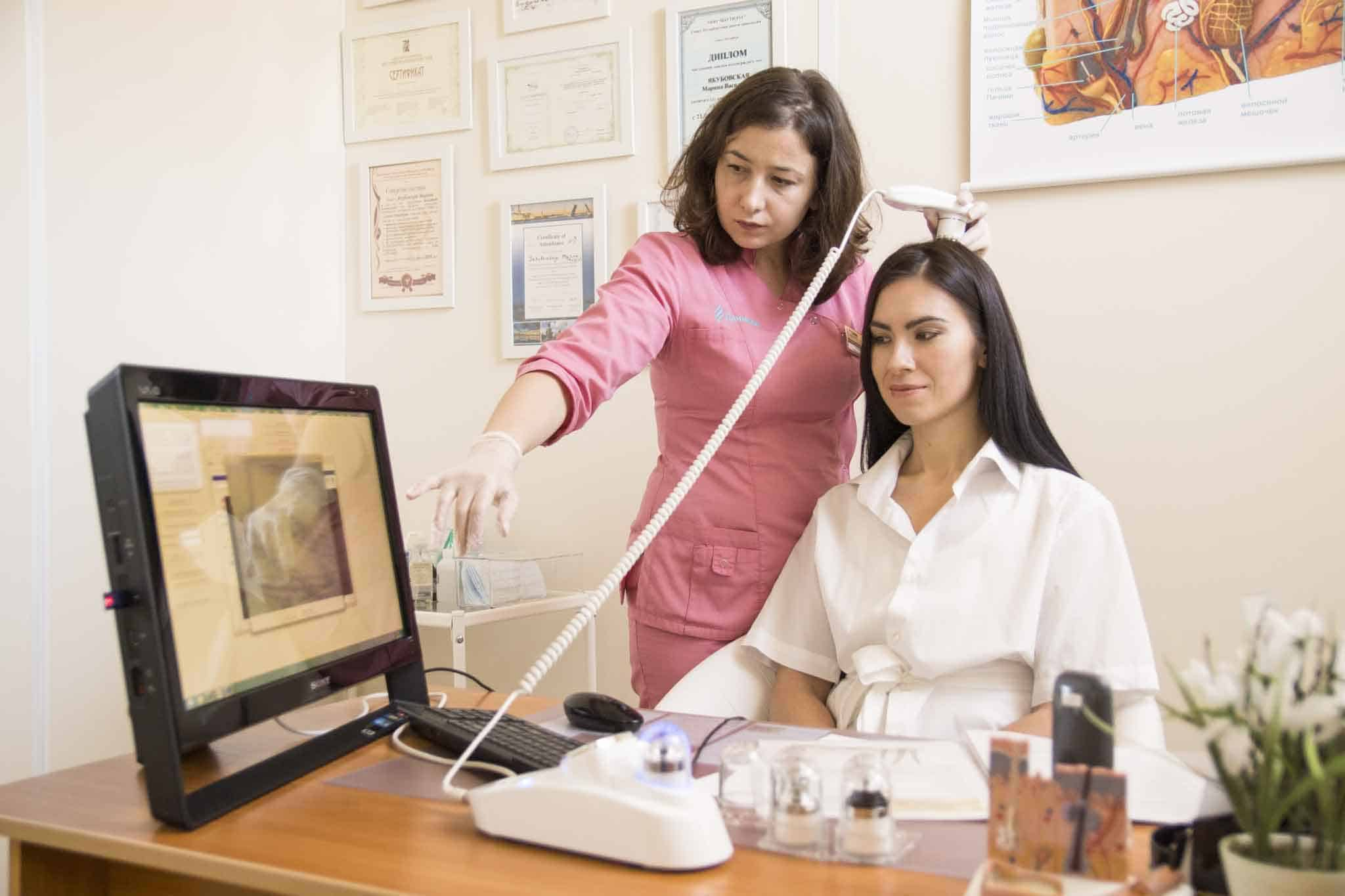 Сделать спектральный анализ волос в медицинском центре Данимед